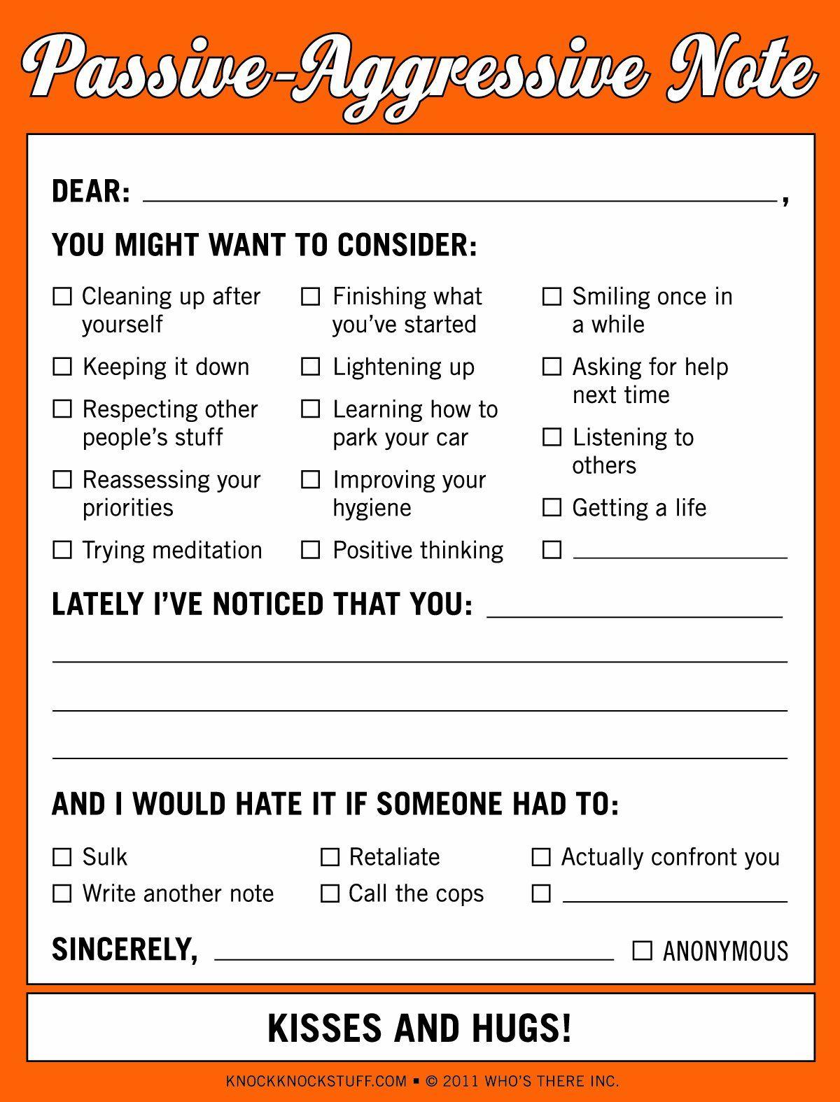 Assertiveness Training Worksheet