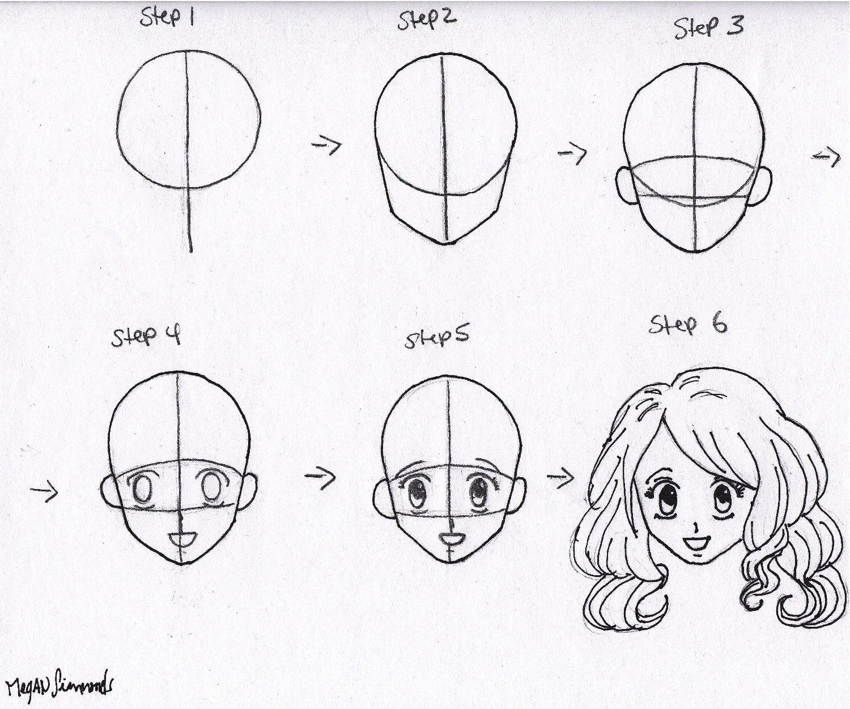 Manga Drawings Step By Step