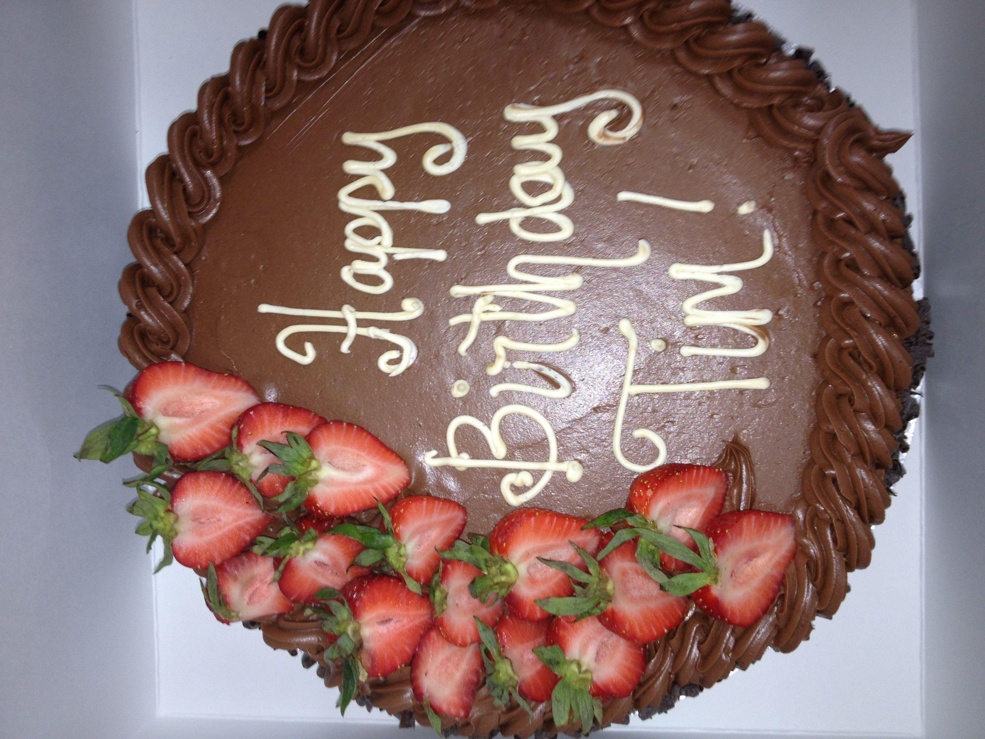 Chocolate Men S Birthday Cake