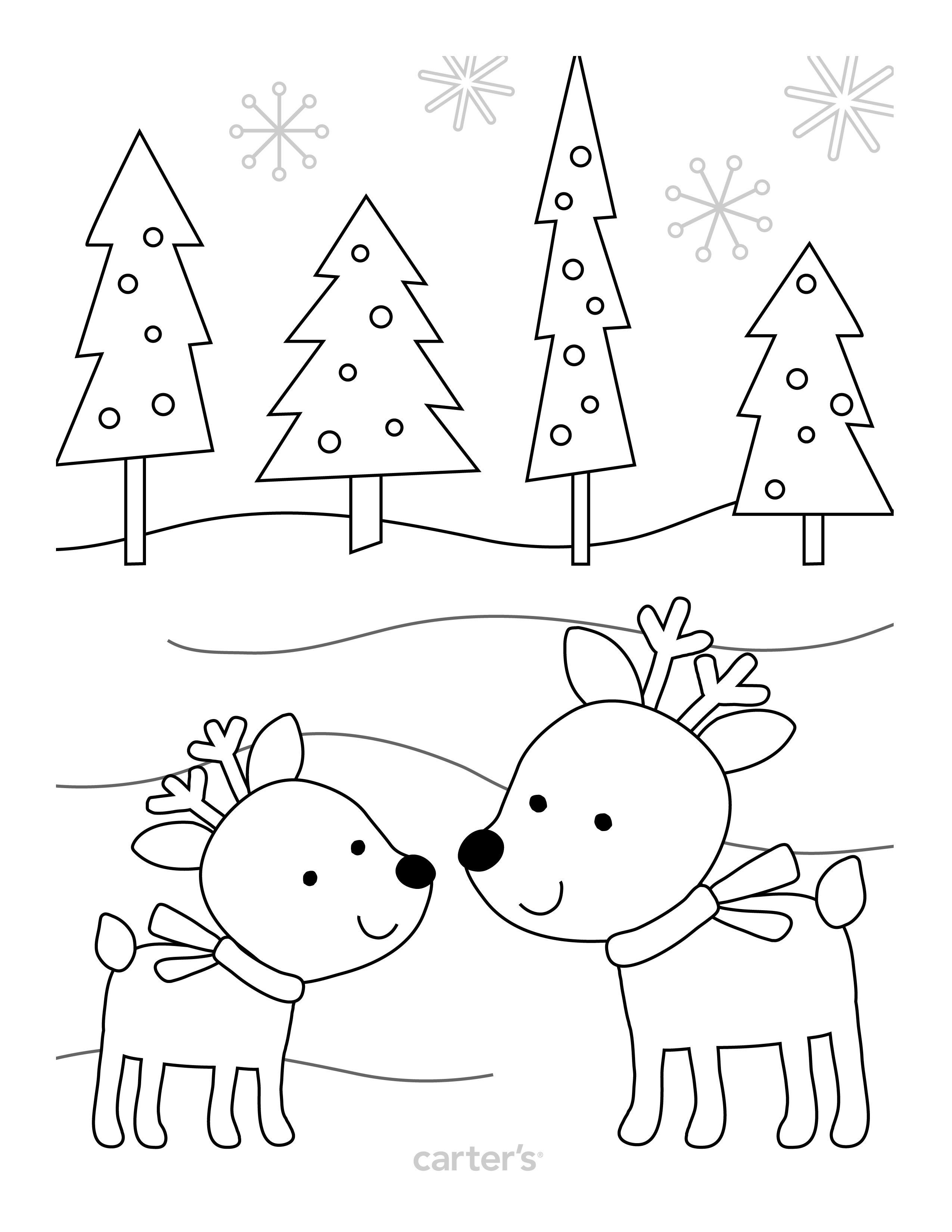 Adorable Holiday Coloring Pages Amp Letters To Santa Printables