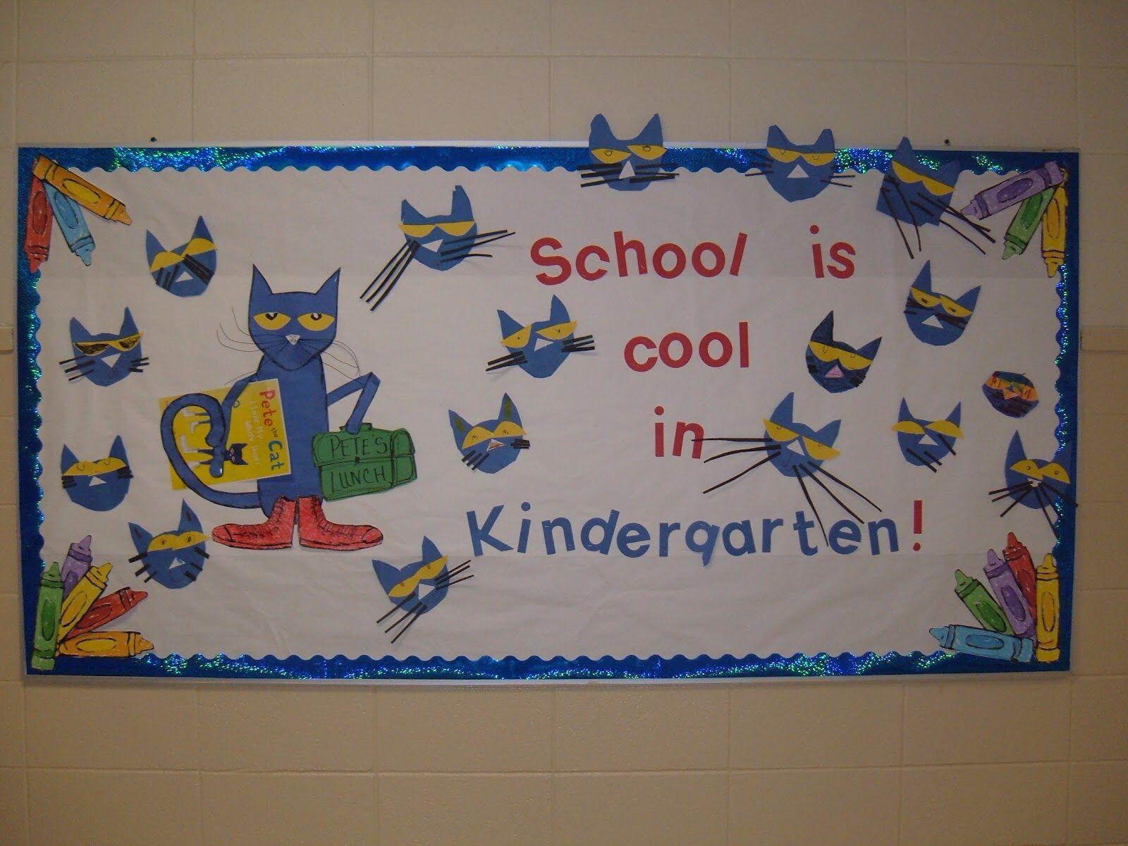 School Is Cool In Kindergarten Kindergartenkissesspot 10 Pete Cat M 1