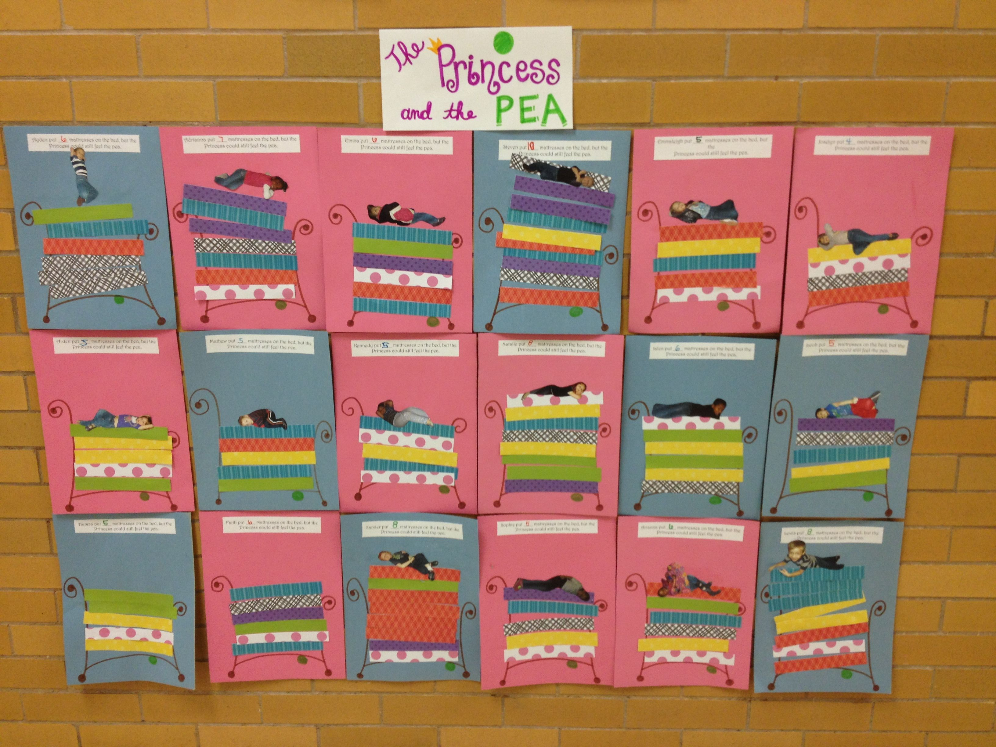 Princess And The Pea Counting Mattresses Activity