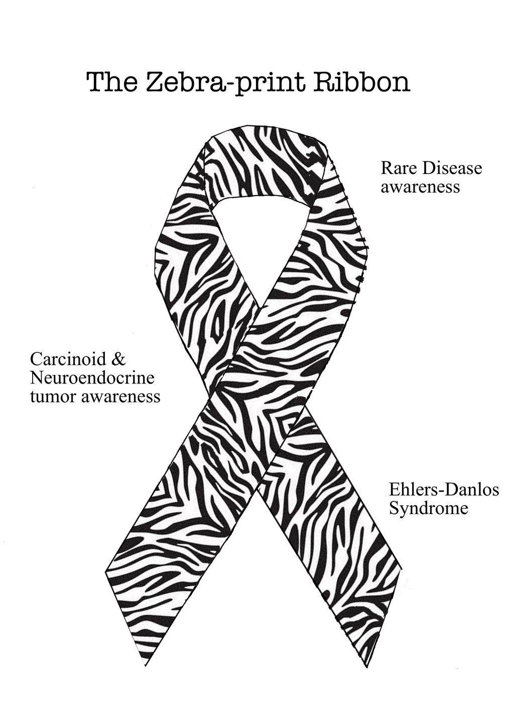 Zebra Print Ribbon Clip Art Cliparts