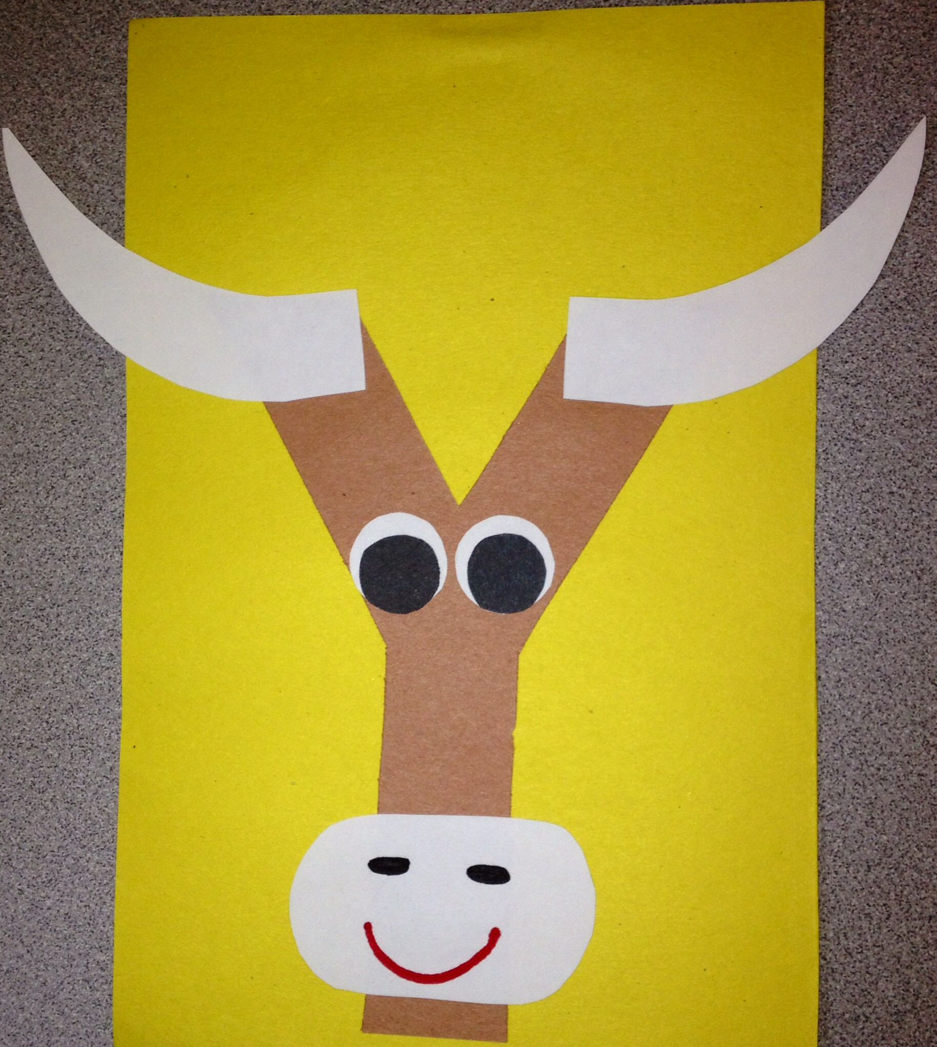 Preschool Letter Y Craft