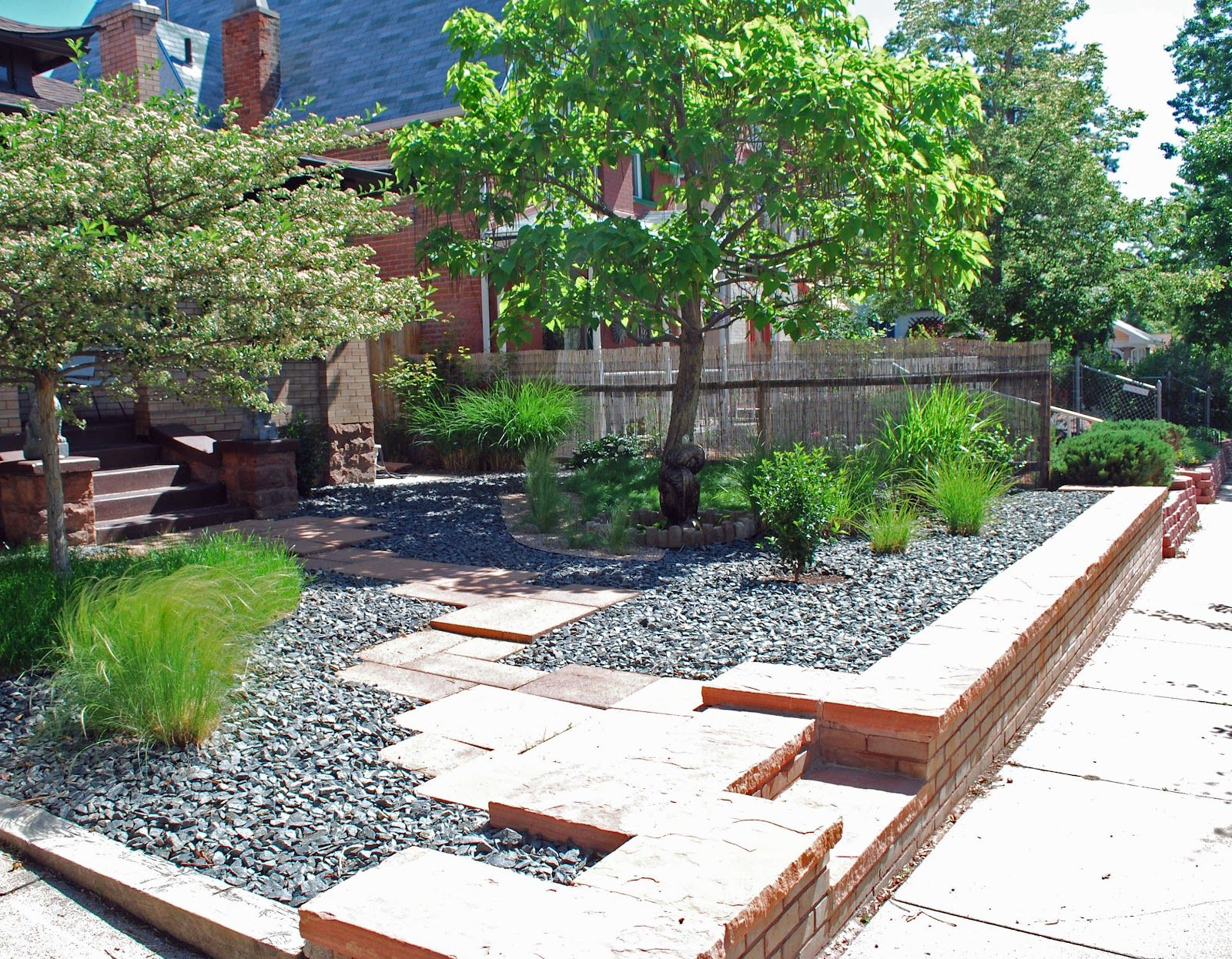 slightly-garden-design-landscape-garden-design-ideas-low ... on Low Maintenance Backyard Design  id=60623