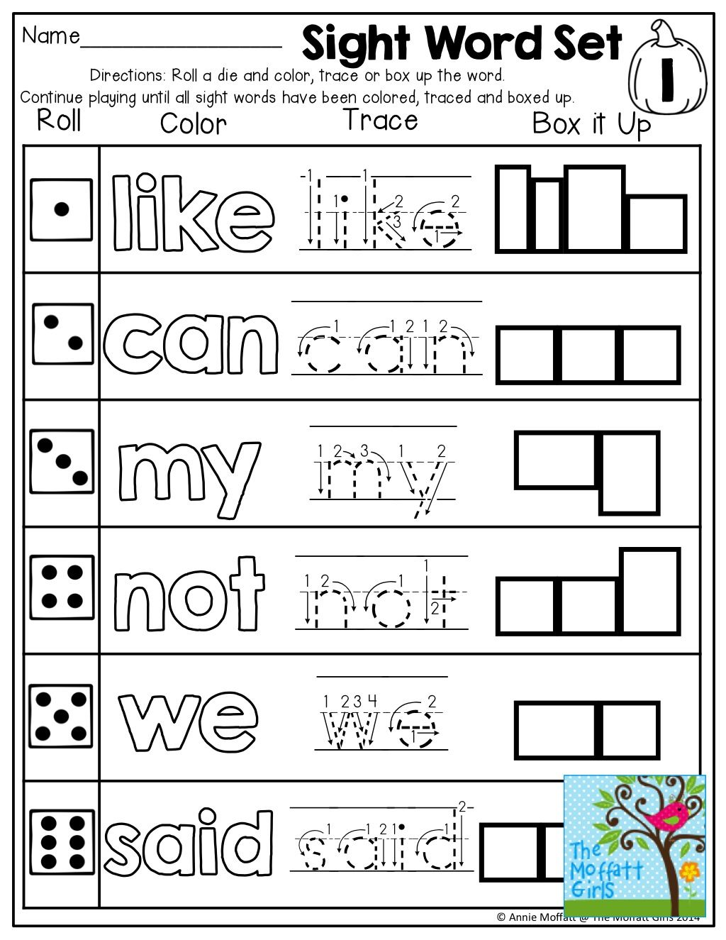 October No Prep Math And Literacy Kindergarten