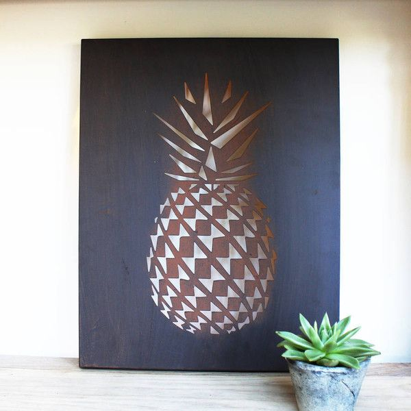 Marquis   Dawe Pineapple Led Metal Sign   43         liked on Polyvore     Marquis   Dawe Pineapple Led Metal Sign   43         liked on Polyvore featuring  home
