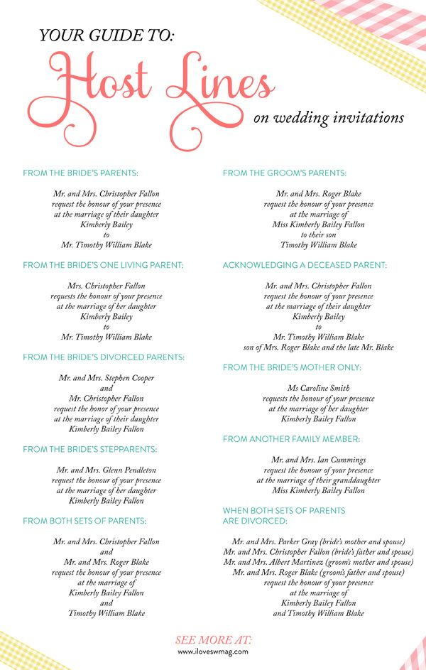 Divorced Parents Wedding Invitation Wording PaperInvite