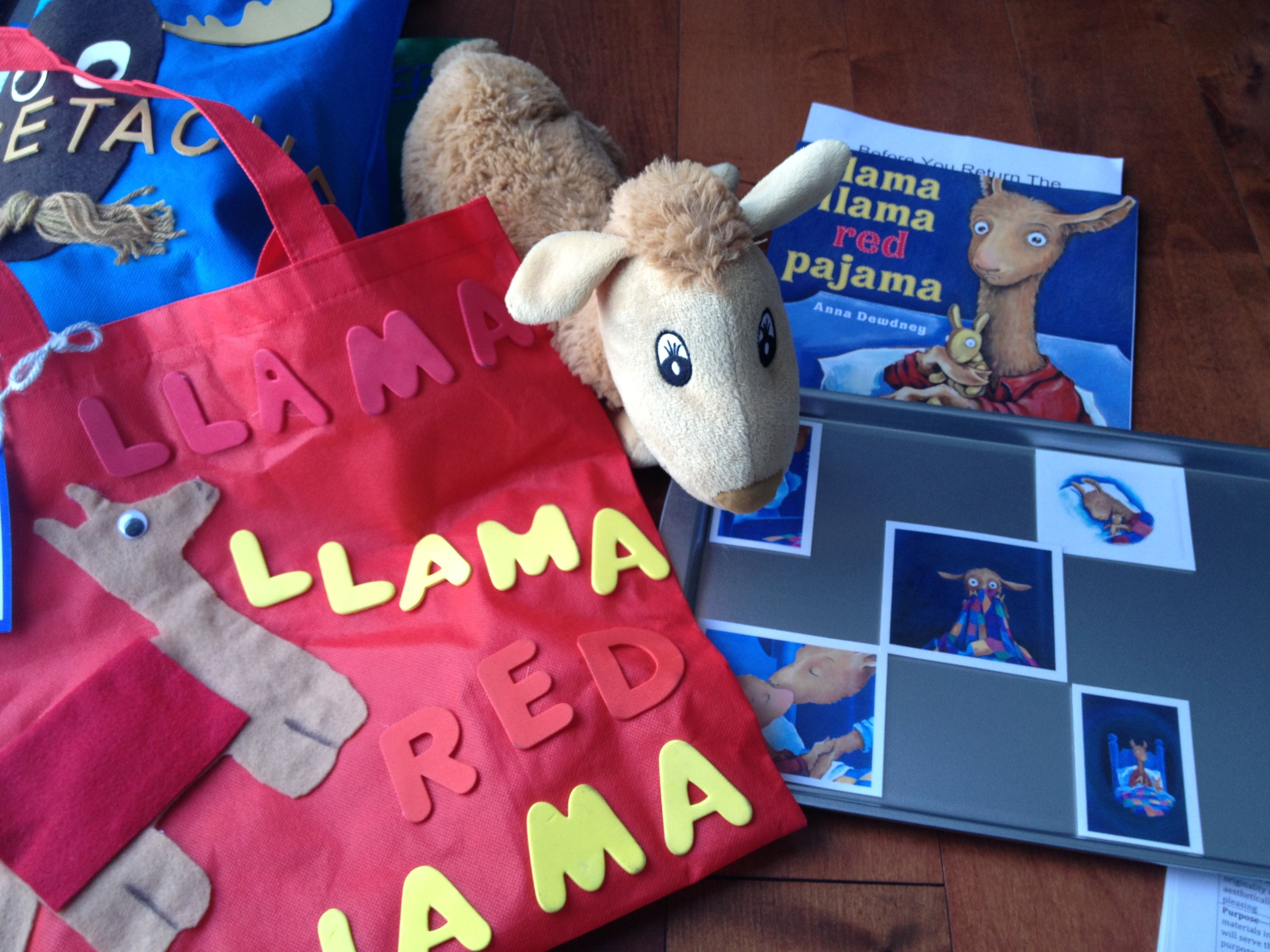 Llama Llama Red Pajama Reading Activity Based On Emotions