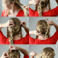Flower braid updo hairstyles pinterest updo flower and hair style