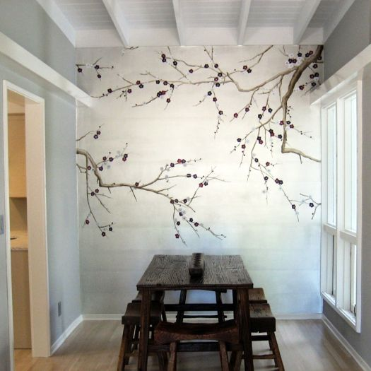 Decorative Elements Utilizing Painted Wall Murals For Your Best Room