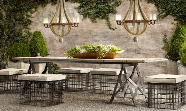 french country outdoor patio furniture Restoration Hardware Outdoor Furniture: Restoration