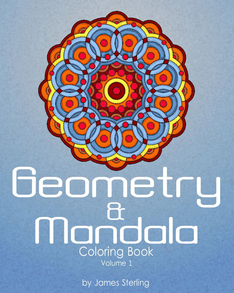 42 Geometric And Mandala Coloring Pages For Kids And Adults