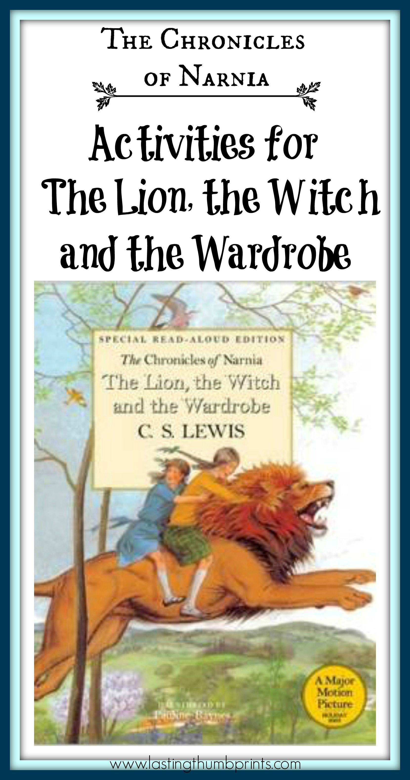 Chronicles Of Narnia Activities For The Lion The Witch