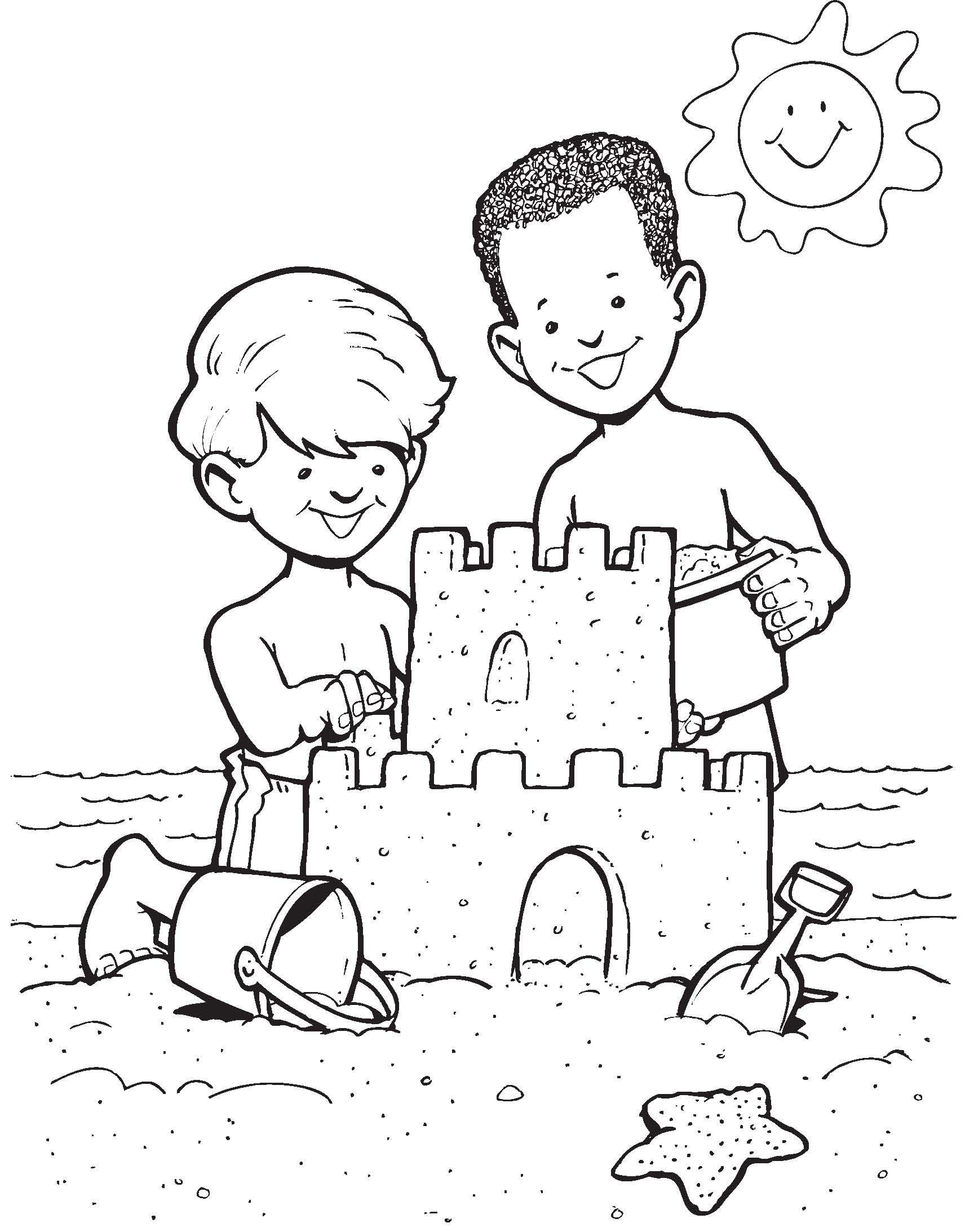 Sandcastle Fun