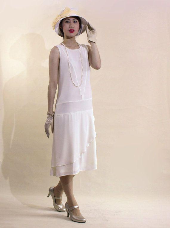 1920s Day Dresses, Tea Dresses, Garden Party Dresses ...