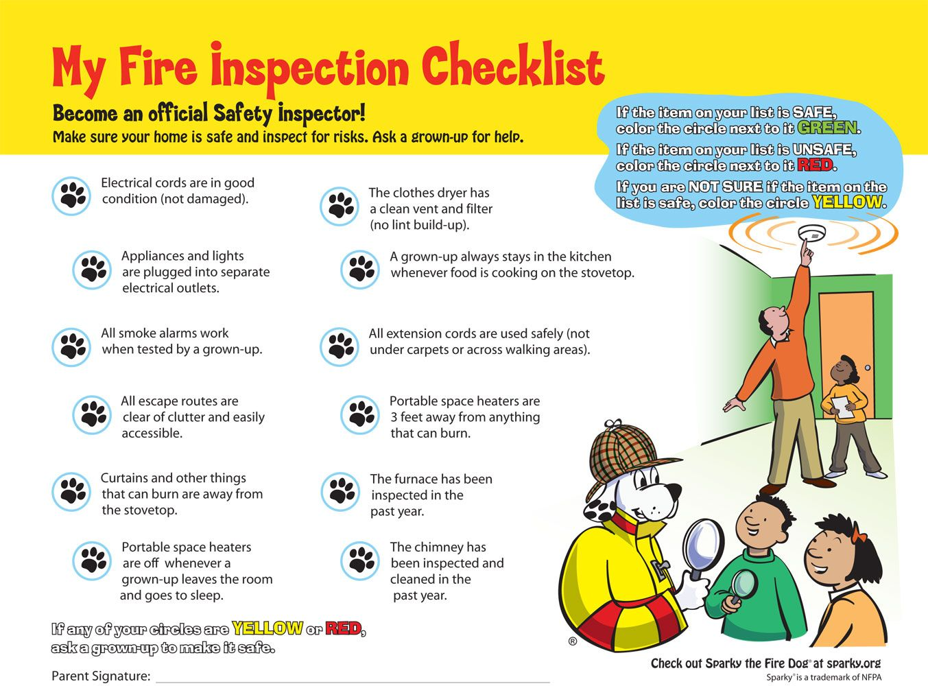 Home Safety Activities For Kids