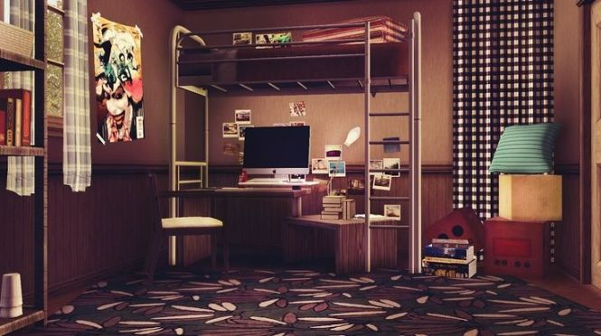 Sims 3 Purple Room Google Search
