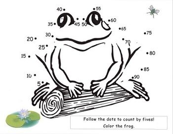 Image result for Counting by 5s connect the dots