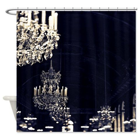 Are You Interested In Our Chandelier Shower Curtain With Paris Need Look No Further