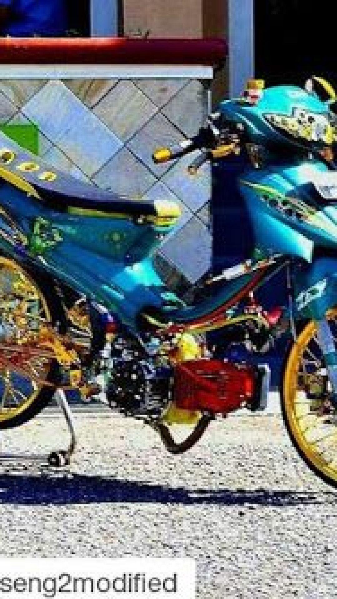 Modif Motor Smash 2004 : modif, motor, smash, Modifikasi, Motor, Suzuki, Smash, Terkeren, Oneng, Motomania