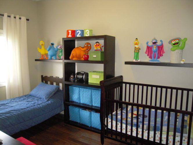 Sesame Street Bedroom
