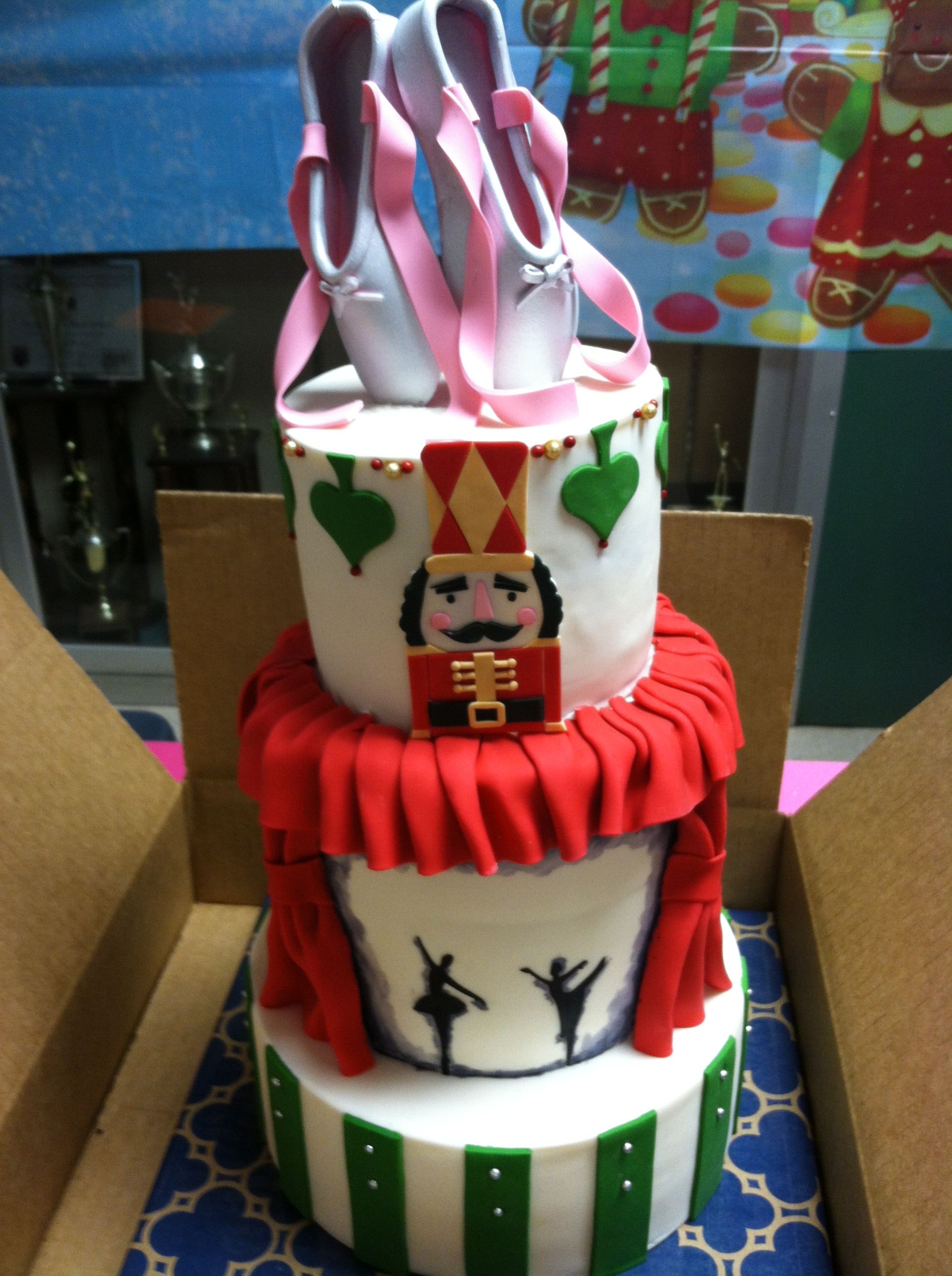 Nutcracker Cake Nutcracker Pinterest Cake Fancy
