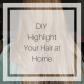 How i save on hair highlights highlighted hair bronde hair