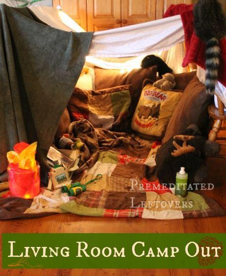 Image result for living room camp