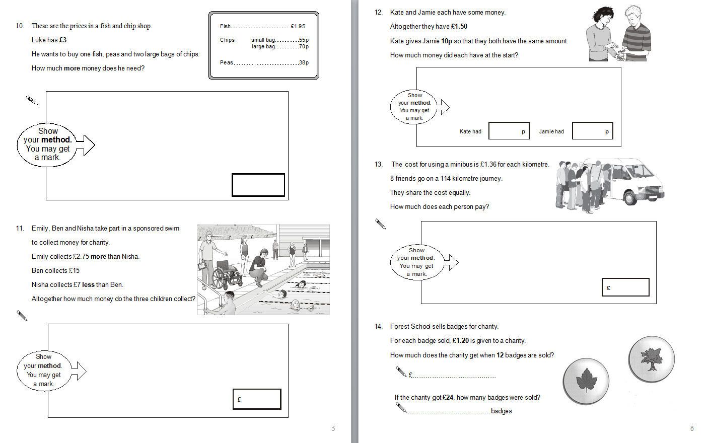 Year 6 Maths Sats Questions A Selection Of Math Sats