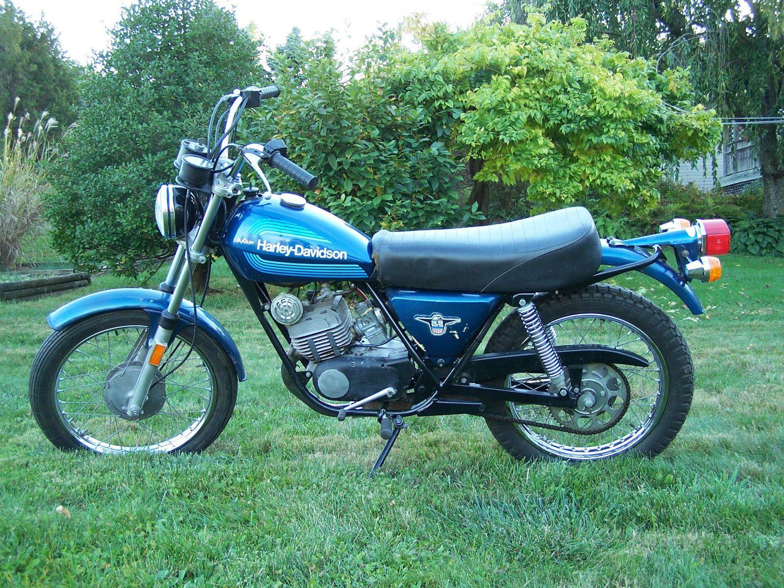 1976 Harley Davidson Aermacchi AMF SS 125
