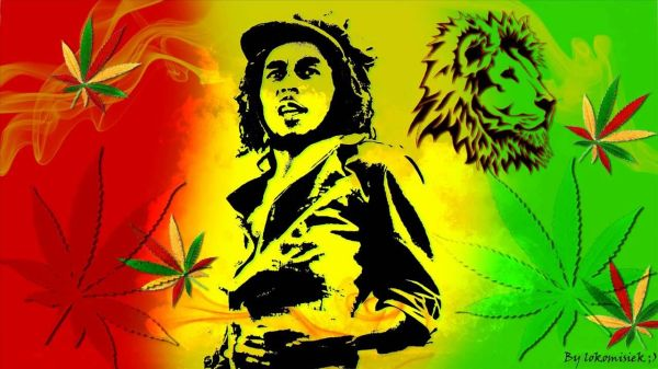 Jamaican Background Bob Marley Shadow | Bobs, Nice and ...