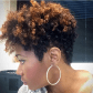 The Tapered TWA and Undercut Black women natural hairstyles My