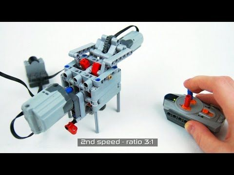 Lego Technic 4 speed RC Compact Sequential Transmission   YouTube     Lego Technic 4 speed RC Compact Sequential Transmission   YouTube