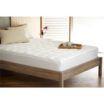 Image For Homemaker Ball Fibre Mattress Topper Queen Bed From Kmart