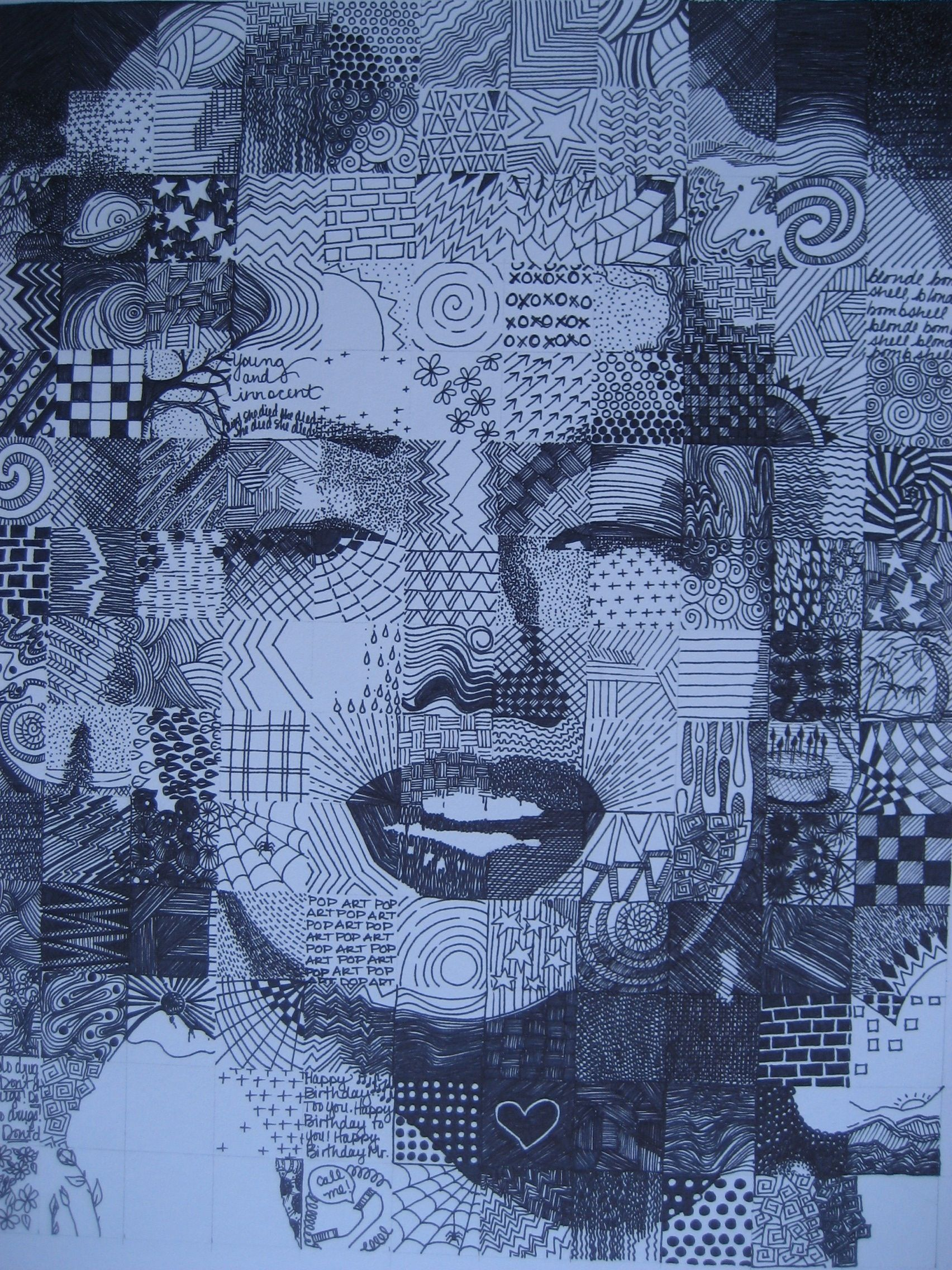 Chuck Close Inspired Project