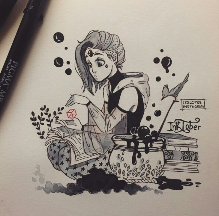 ItsLopez Desenho Pinterest Witches Drawings and Street magic