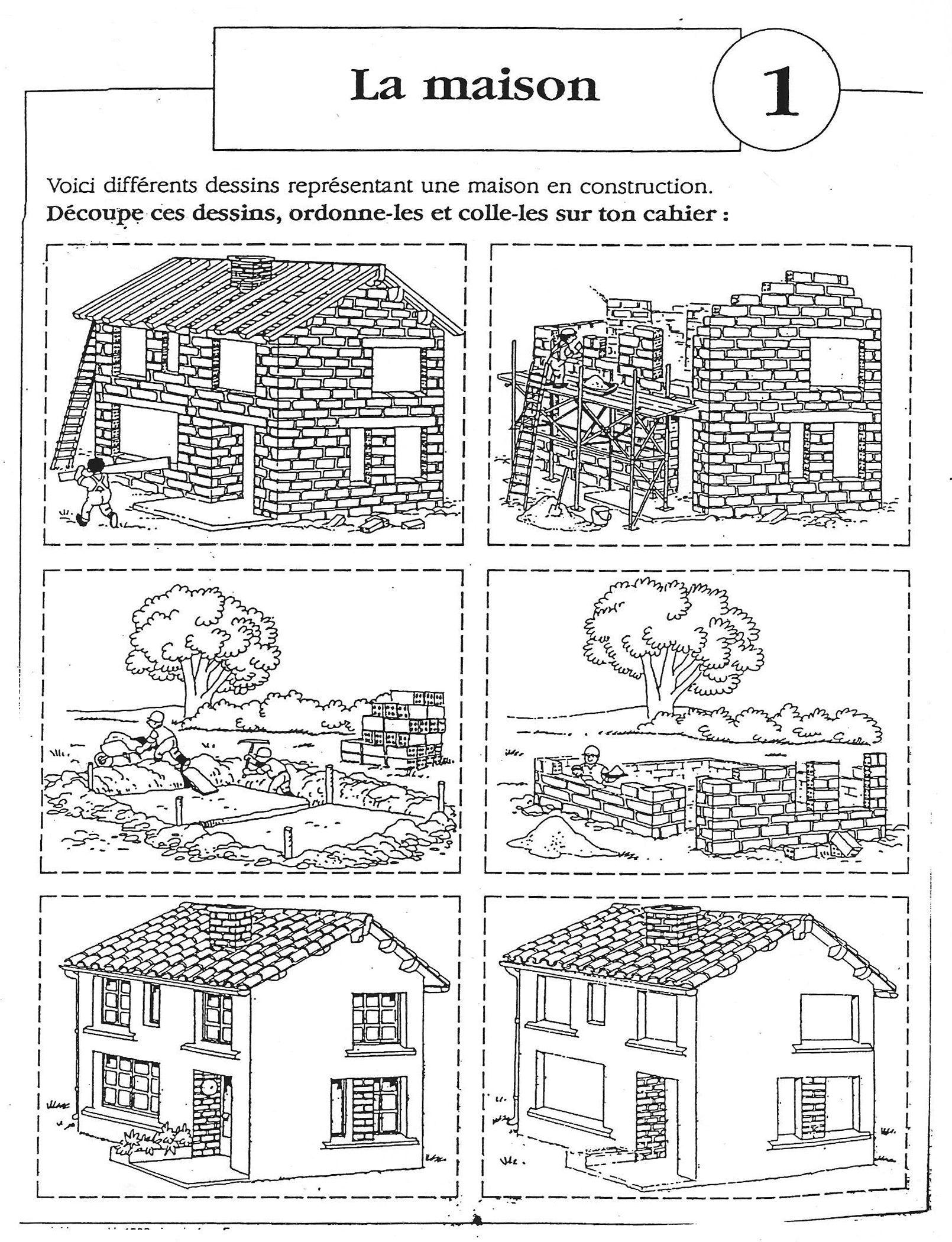 Images Sequentielles La Construction De La Maison 6 Images