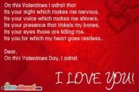 valentines day message to a loved one