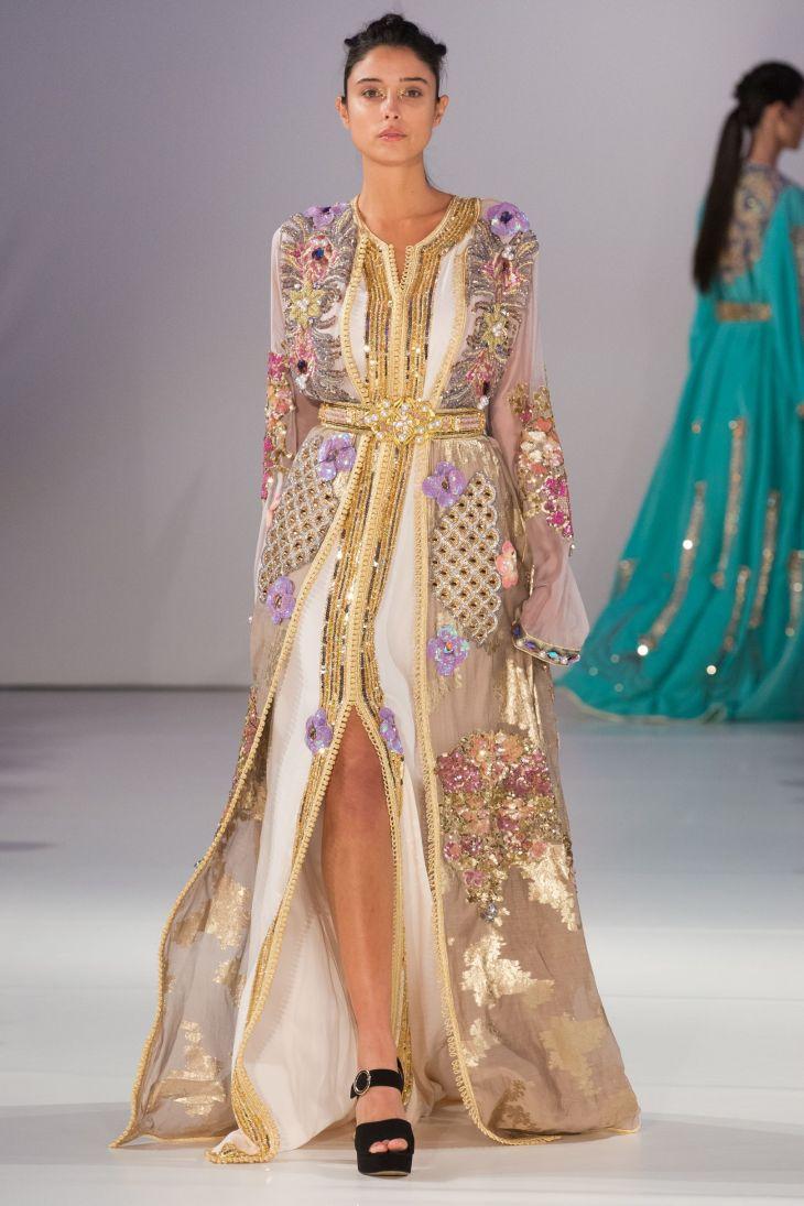 Meriem Boussikouki SpringSummer  Ready To Wear  Caftans