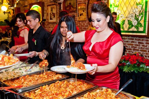 Cheap Wedding Food Catering