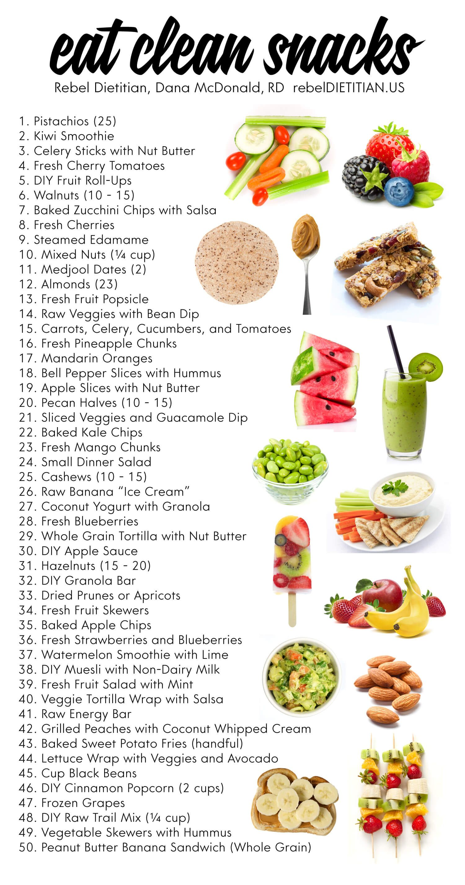 Updated Healthy Snack Ideas Vegan