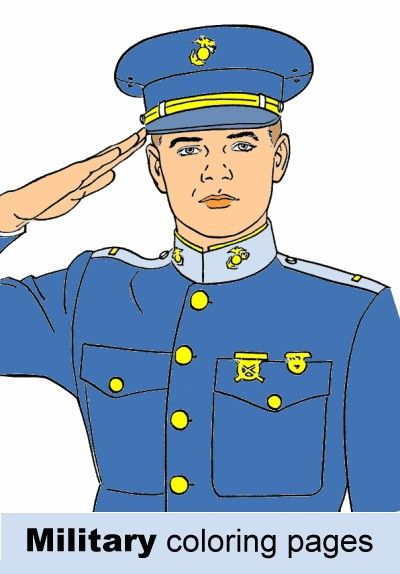 free military coloring pages  army navy air force and