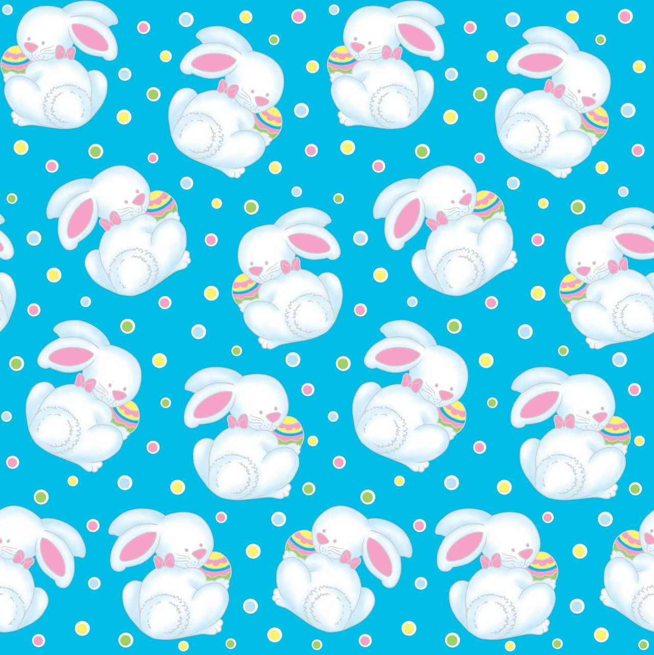 Easter Spring Seamless Print Pattern 2 By Doncabanza On