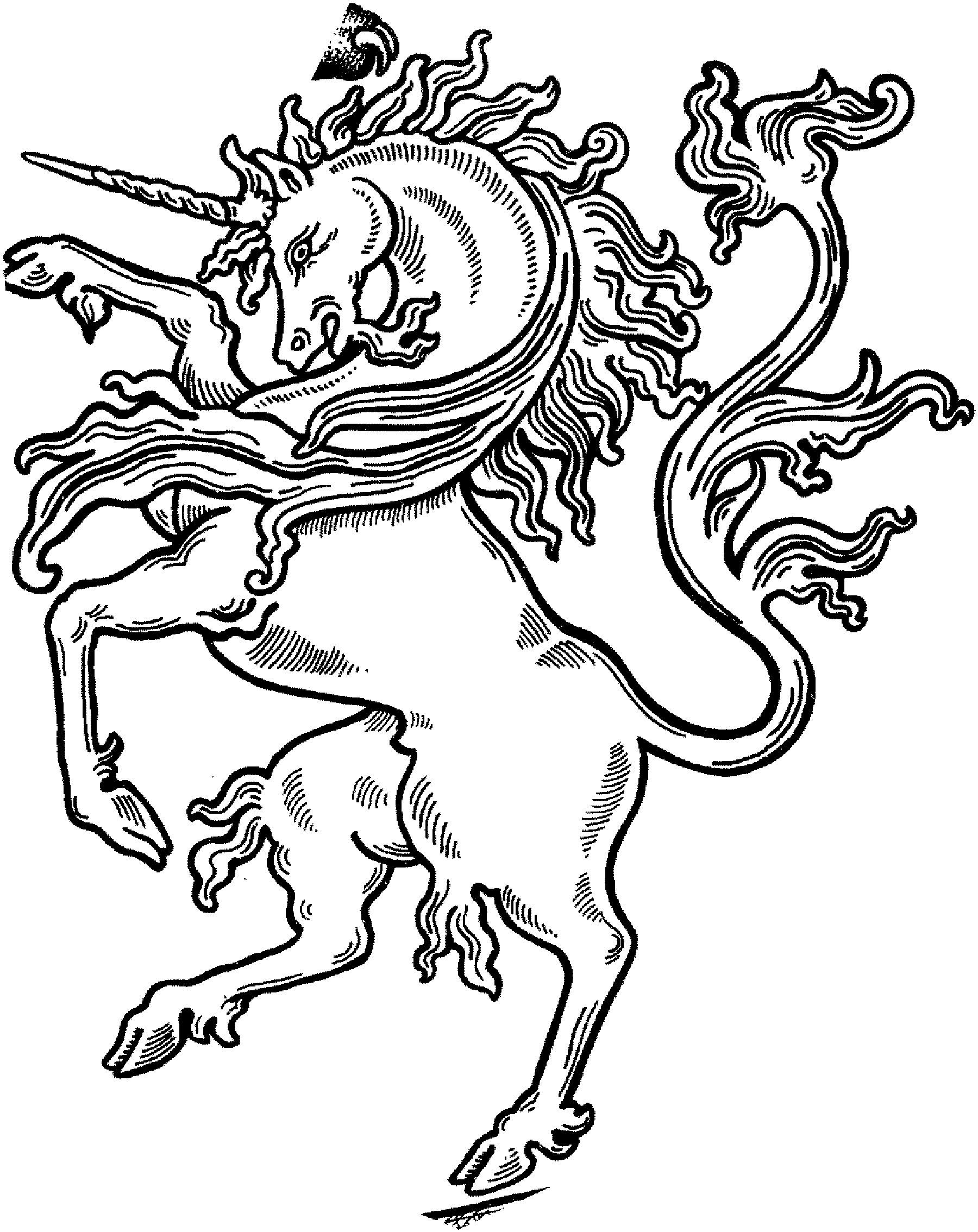 Complicolor Unicorn Coloring Sheet Mythiccreatures Printable Pages And Coloring Books For