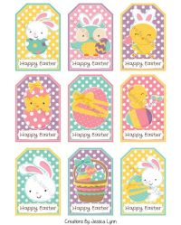 Free easter gift tag template merry christmas and happy new year free easter gift tag template negle Image collections
