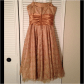 Sparkly gold promstyle dress
