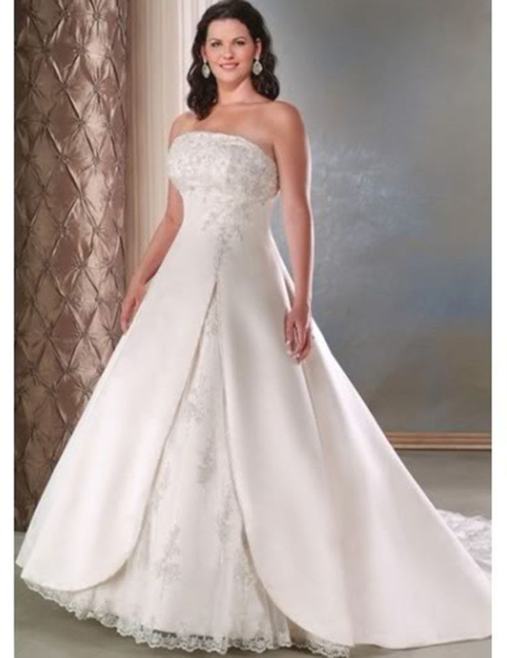 Plus Size Bridal Dress Lace Wedding Gown Wedding Dress custom