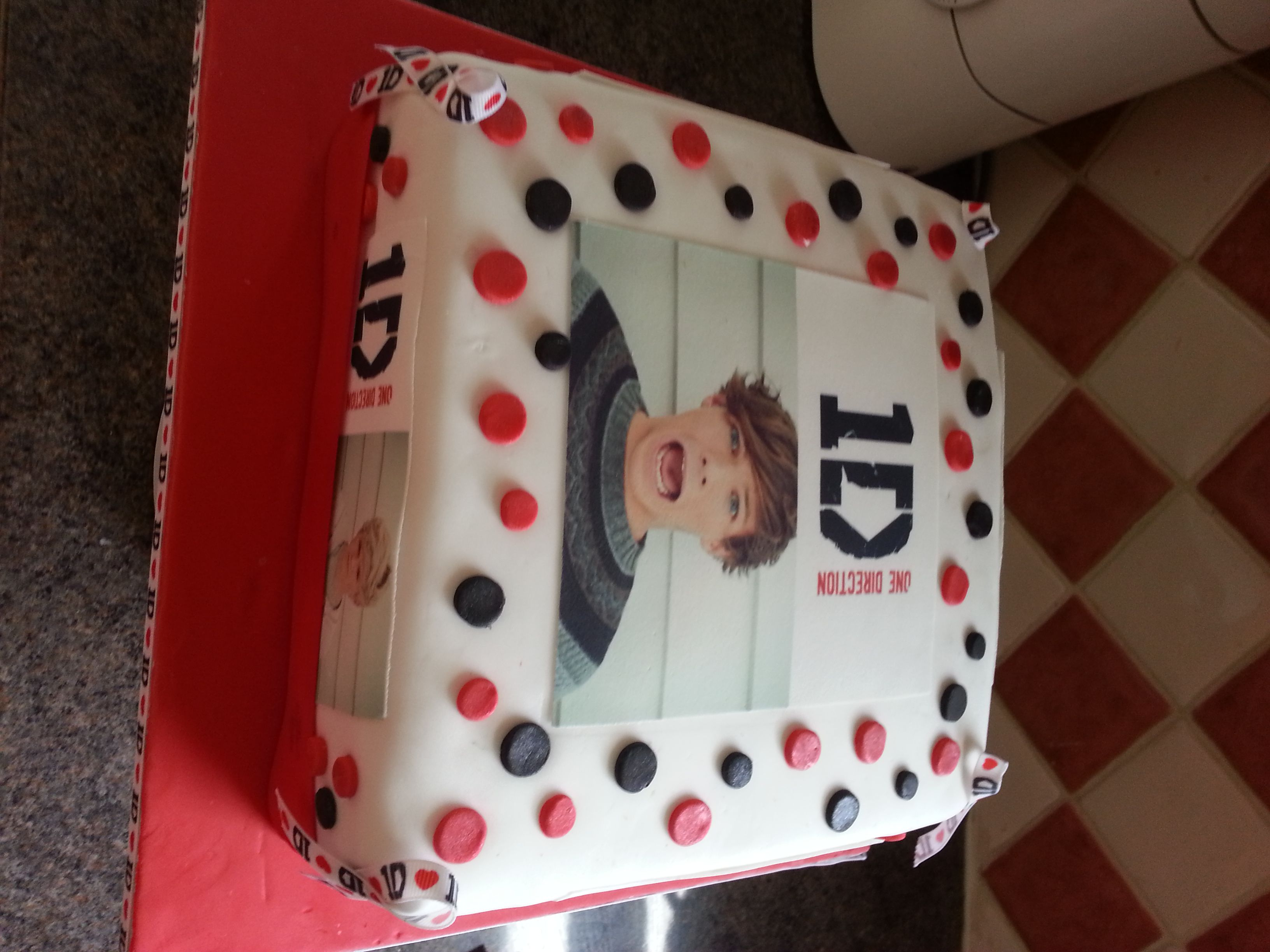 One Direction Cakes At Walmart