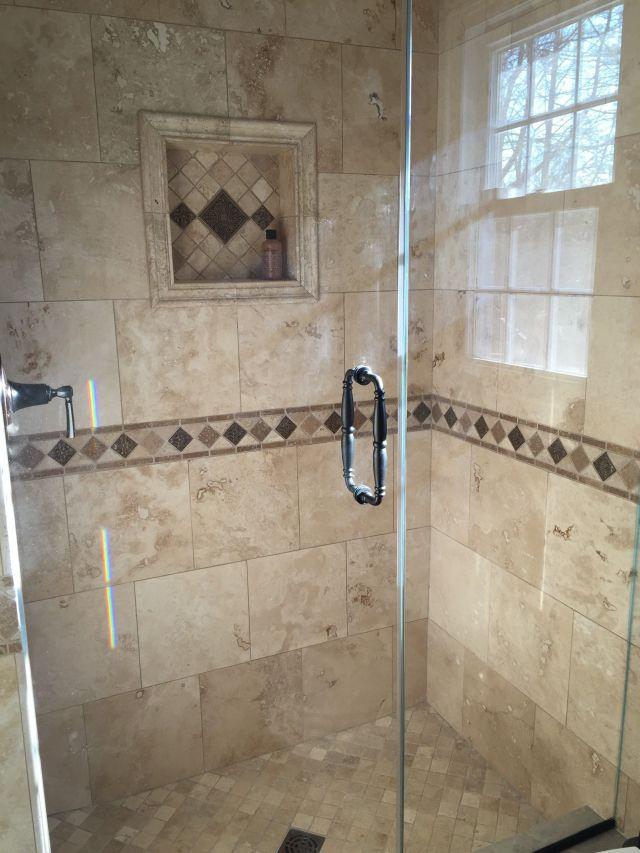 Classic Travertine Bathroom Shower Tile Ideas lanewstalk
